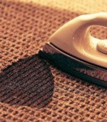 Carpet Iron Burn Repair