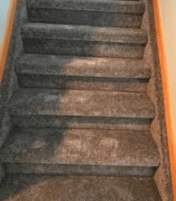 Carpet Stair Damage Repair