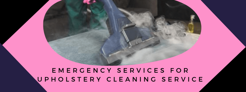 Emergency services For Upholstery Cleaning Service